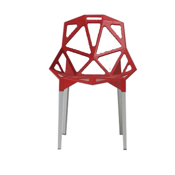Chaise spider rouge with chaise de cuisine rouge for Liquidation chaise cuisine