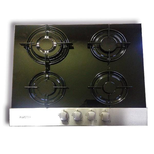 Cityshop tunisie plaque cuisson gaz auxstar noir 4 feux - Plaque 4 feux gaz encastrable ...