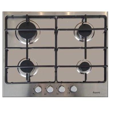 Plaque de cuisson Ferre 4 feux Inox