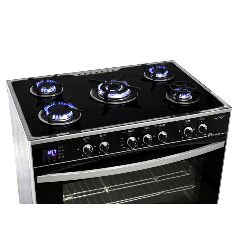 Cityshop vente en tunisie cuisini re ichef smart unionaire 5 feux 60x90cm di - La germania cuisiniere 5 feux ...