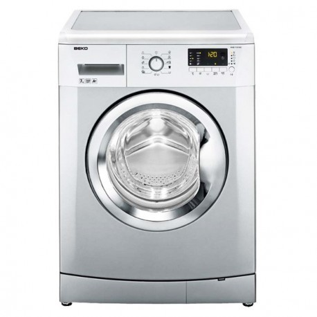 machine laver beko 7kg silver avec afficheur. Black Bedroom Furniture Sets. Home Design Ideas