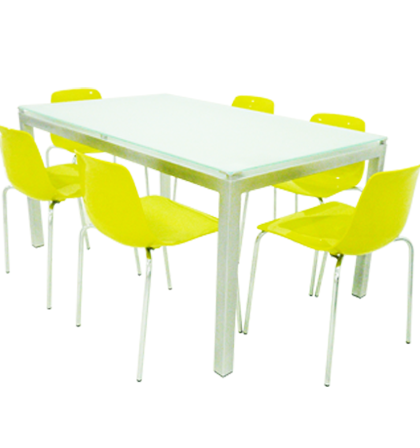 Cityshop tunisie table de cuisine agatha for Table de cuisine chaises