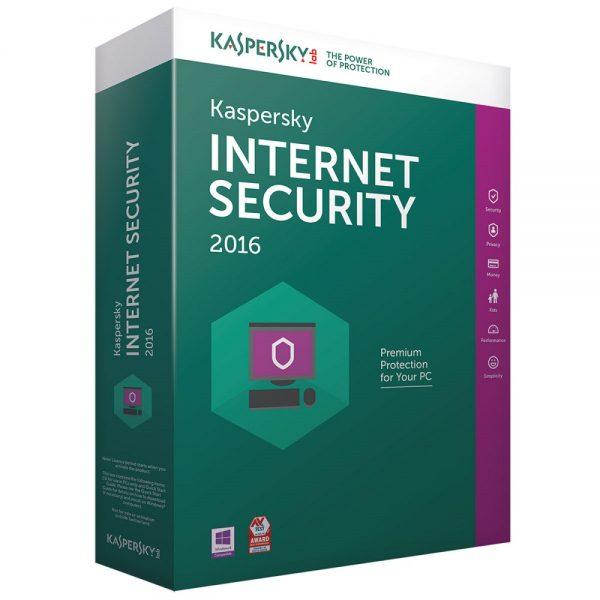 Kaspersky Internet Security 2016 1 an 1 poste KIS