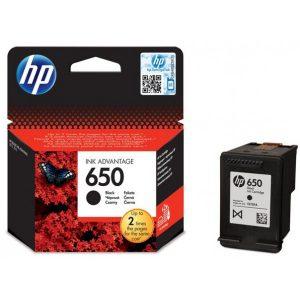 Cartouche HP Noir 650