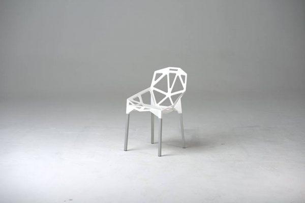 chaise spider blanc
