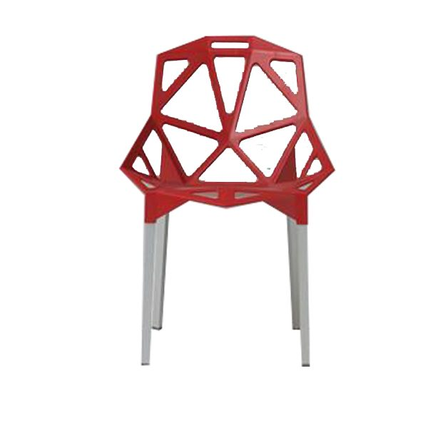 chaise spider rouge