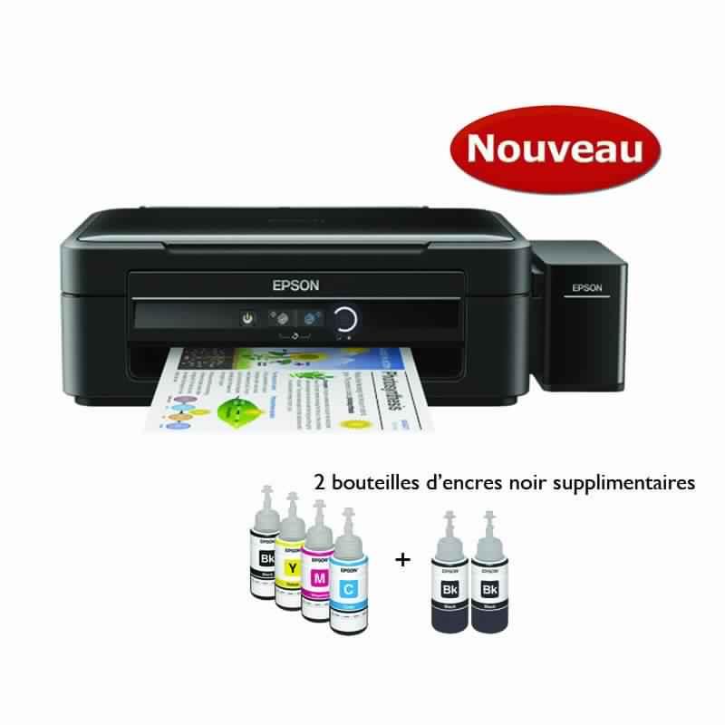 cityshop tunisie imprimante multifonction epson l382 3en1 avec des r servoirs d 39 encre int gr s. Black Bedroom Furniture Sets. Home Design Ideas