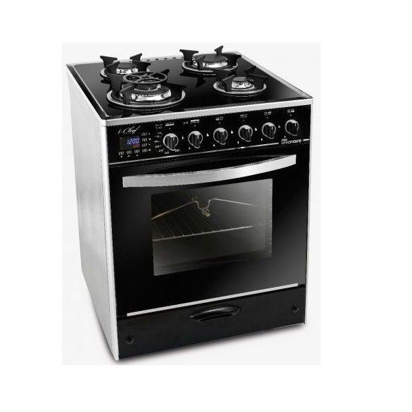 Cuisinière IChef Smart Unionaire 4 Feux 60x60cm Digital Full option