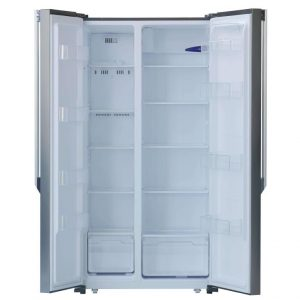 Réfrigérateur side by side Telefunken Noir avec afficheur