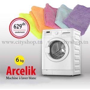 Machine à laver automatique ARCELIK 6KG
