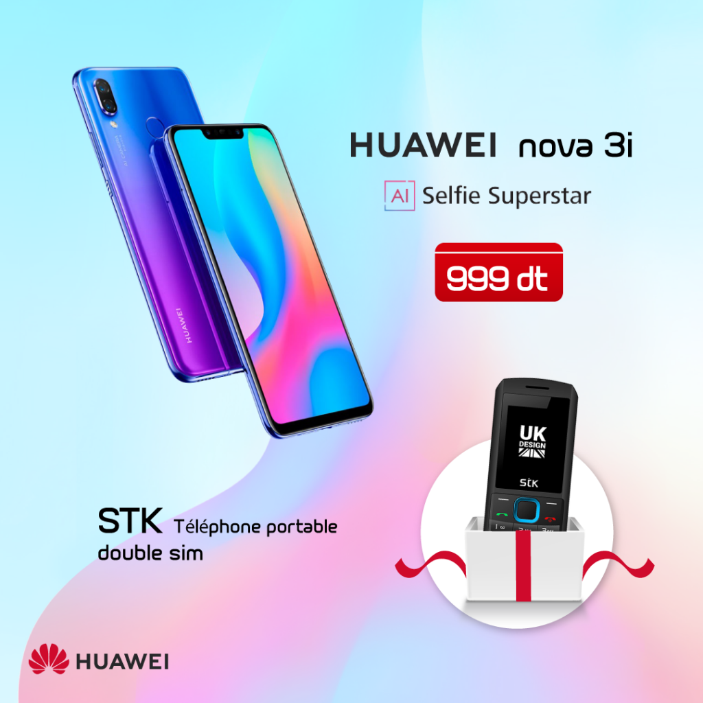 Huawei Nova 3i Cityshop Tunisie Lance La Nouvelle Gamme De Huawei