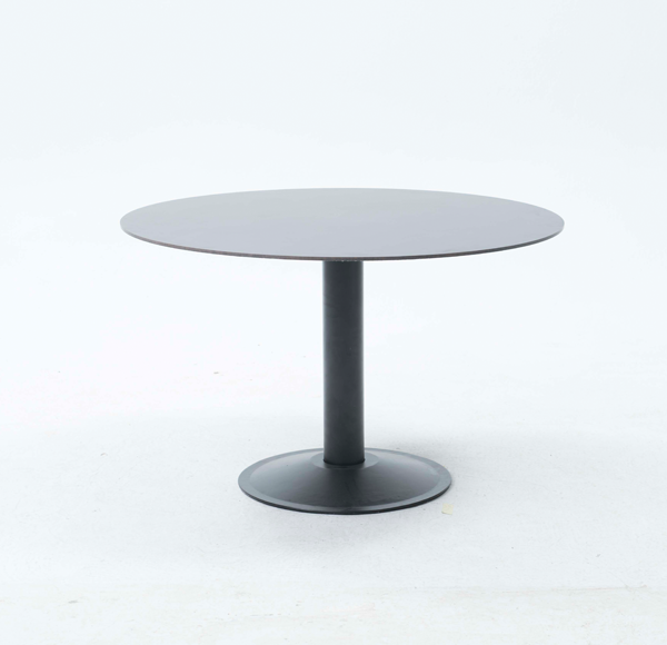 Table Ronde 130 Cm.Table Ronde Sola Diametre 130 Cm Plateau En Compact