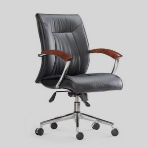 Chaise de Direction Excellence B.D. Base Chromé