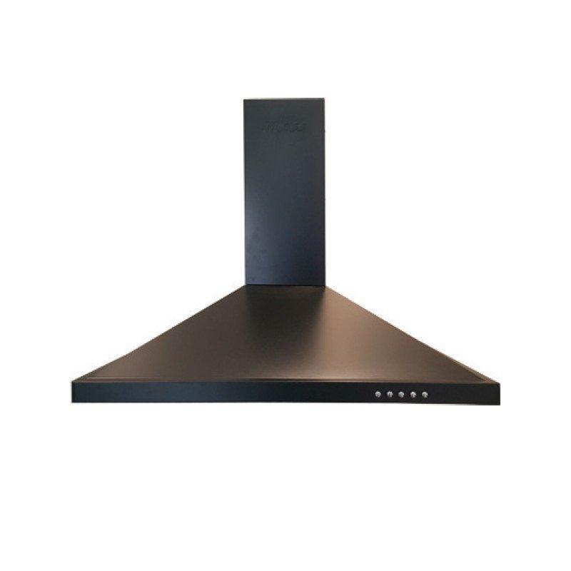 hotte aspirante chemin e klass 60 cm noir cityshop tunisie. Black Bedroom Furniture Sets. Home Design Ideas