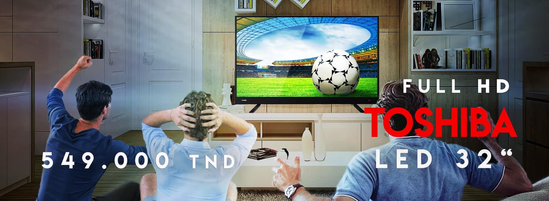 TV led Toshiba 32