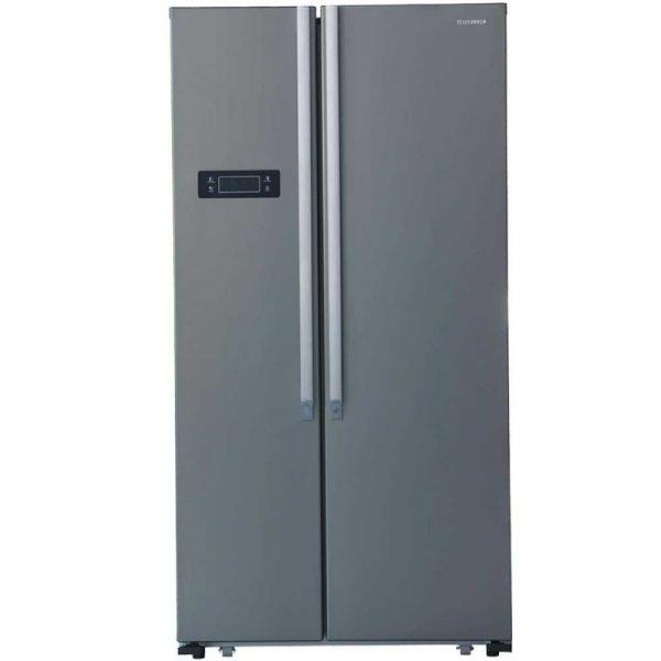 Réfrigérateur TELEFUNKEN Side By Side 562 Litres NoFrost Silver