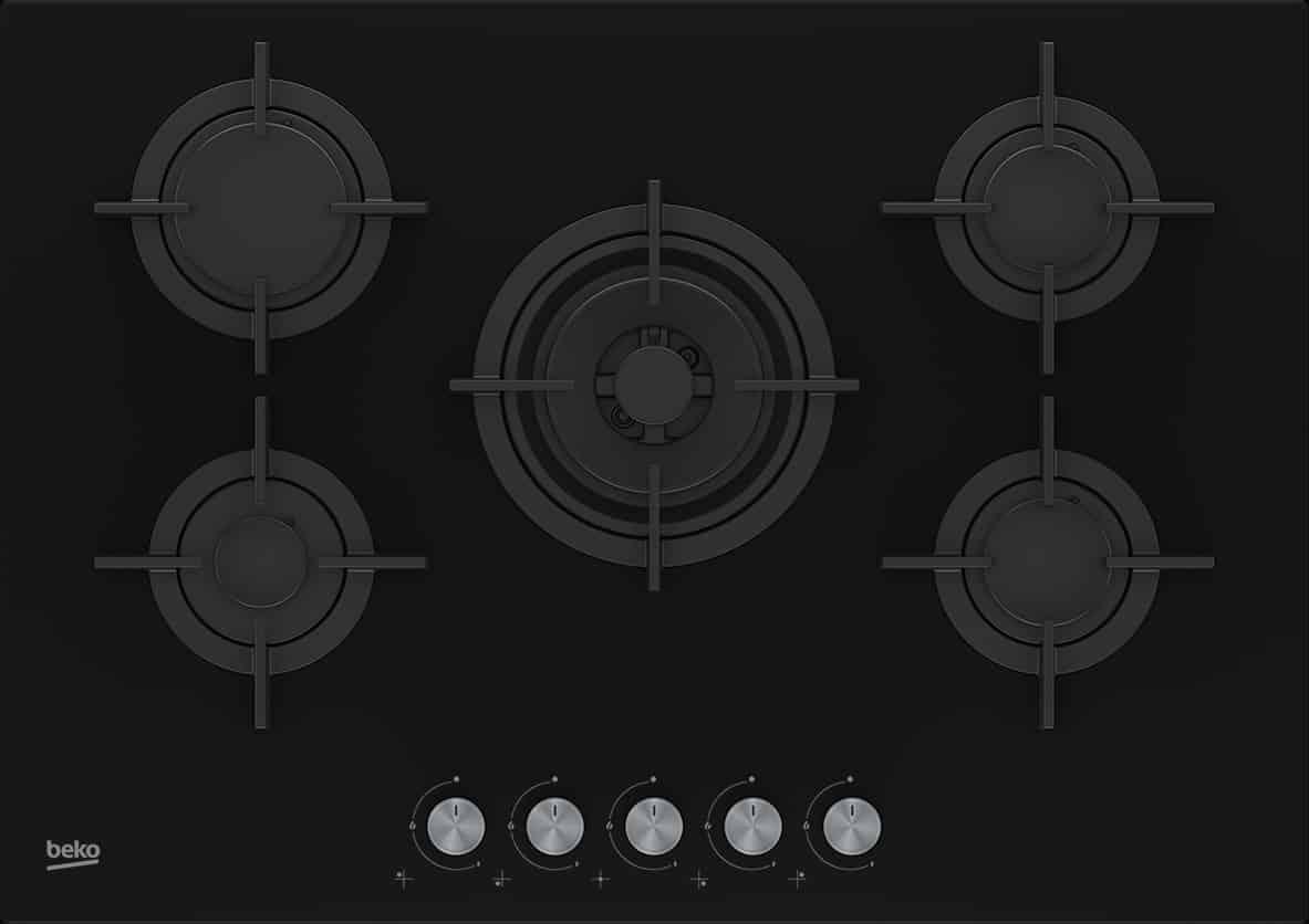 bas prix e9d31 34943 Table de cuisson BEKO 5 Feux 75cm
