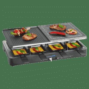 Gril à raclette 2 en 1 Clatronic