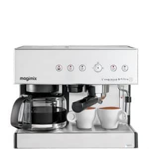 Combiné Expresso et Cafetière Filtre Magimix