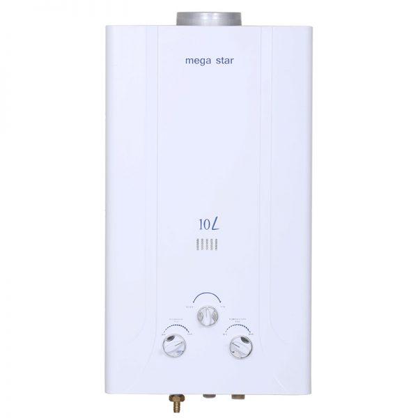 Chauffe eau à gaz MEGA STAR 10 L Blanc