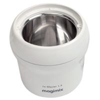 Sorbetière MAGIMIX LE GLACIER 1.5 L ROUGE