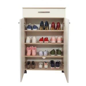 Porte chaussures classique 2 portes+1 tiroir