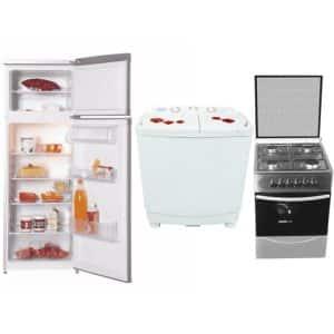 Pack Mariage Réfrigérateur+ Cuisinière + Machine à Laver