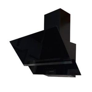 Hotte Décorative Vitrée 60cm Noir NewStar