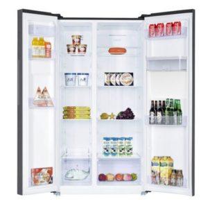 Réfrigérateur NEWSTAR Side By Side 559 Litres NoFrost Inox